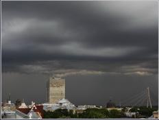 Sienas mākonis Rīgā, 27.8 maijā