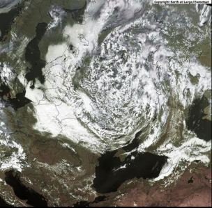 Ciklons ilgdzīvotājs WERNER/XANDER