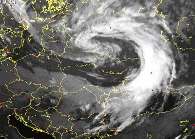 Ciklons kas atnesa šonedēļ rudeni un vētru...